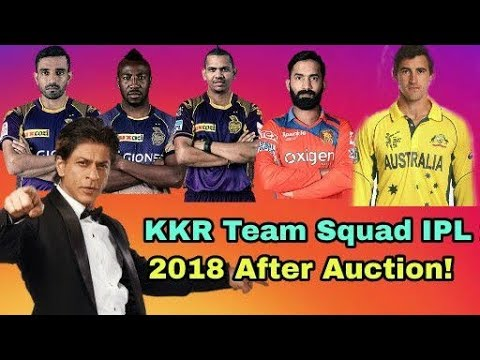 IPL 2018: Kolkata Knight Riders (KKR) Team Squad IPL 2018 | Cricket News Today