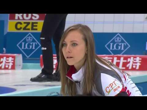 2017 World Womens Curling Championship - Canada (Homan) vs. USA (Roth)