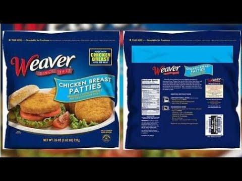 Craig Stevens - Tyson Foods recalls Weaver ready-to-eat chicken patties