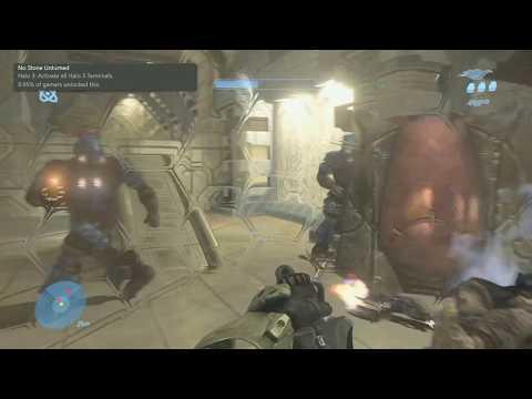 Halo 3: No Stone Unturned (Terminals) Achievement Guide
