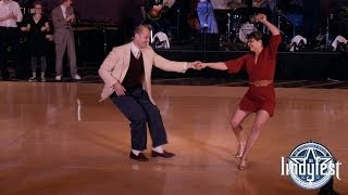 Repeat youtube video Lindyfest 2014 - Invitational Strictly Lindy Hop Finals