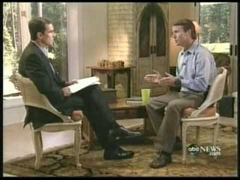 """John Edwards ABC """"NightLine"""" Interview On  Adultery Part  1"""