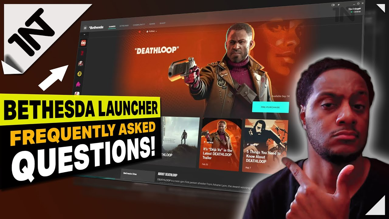 Bethesda Launcher FAQ [How to Redeem Bethesda Code, Install Games, Is it SAFE...]