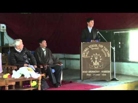 Sikyong Dr. Lobsang Sangay Visits CST Miao