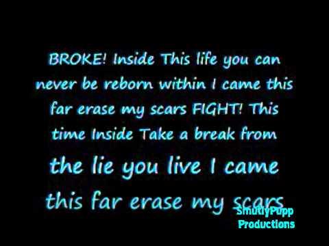 Evans Blue~Erase My Scars {Lyrics}