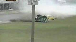 Mark Thompson Flips Over At Daytona - 1994