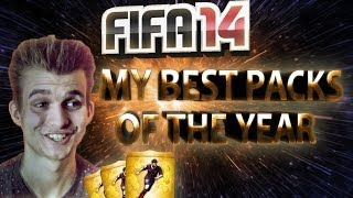 FIFA 14 - My Best Packs Of The Year!
