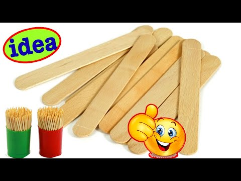 New Creative Popsicle Crafts Ideas | Art and Craft Ideas | Best Out of Waste Craft