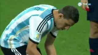 Penales Argentina Holanda Mundial Brasil 2014 - TV Publica (Sebastian Vignolo)