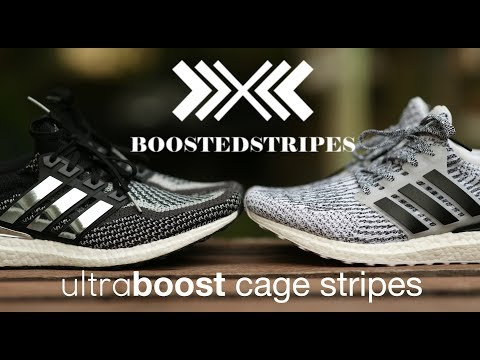 Custom Adhesive Ultra Boost Cage Stripes (Boosted Stripes)