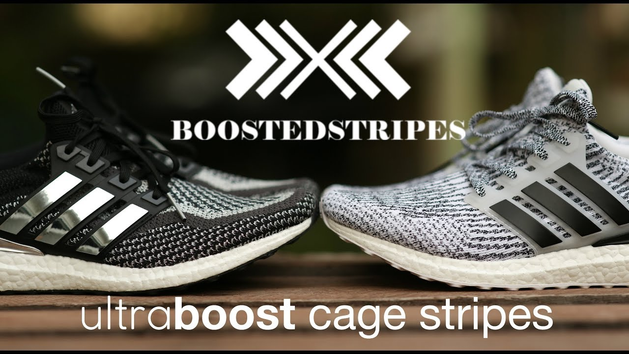 1743c12de0f Custom Adhesive Ultra Boost Cage Stripes (Boosted Stripes) - YouTube