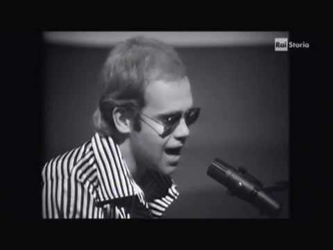 Elton John - Crocodile Rock (studio TV 1973)