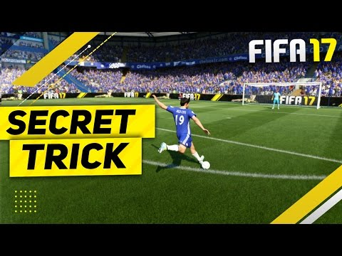 FIFA 17 SECRET TRICK TUTORIAL - HOW TO SCORE GOALS EVERYTIME