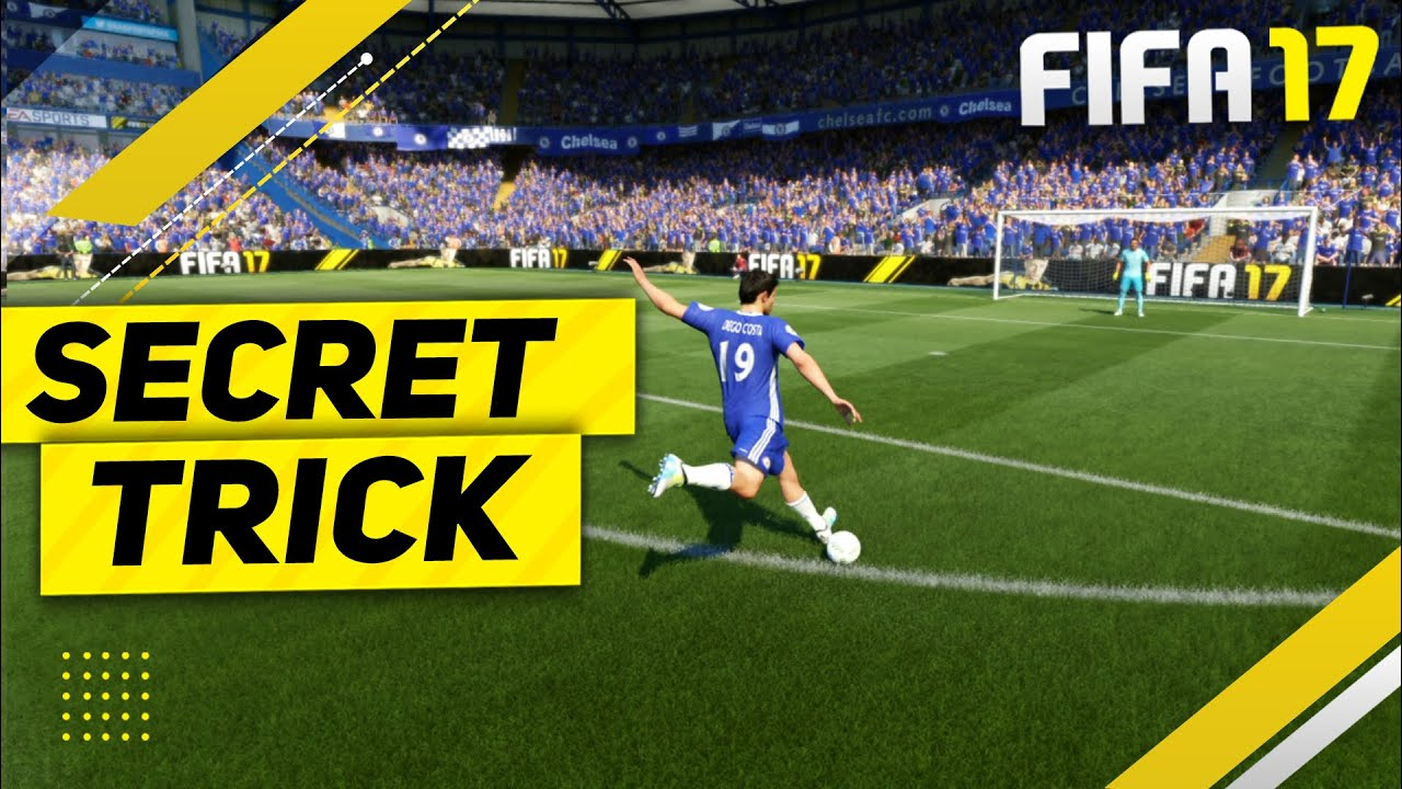Fifa  Secret Trick Tutorial How To Score Goals Everytime Special Shooting Trick Youtube