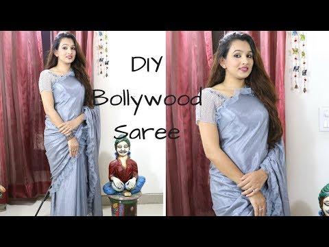 DIY Bollywood Style Saree At Budget Less Than Rs 1000