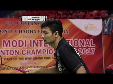 Syed Modi International Badminton C'ships 2017 | SF M2-MD | Lu/Yang vs Ang/Har
