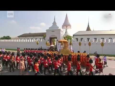 Thai kings lavish $90 million cremation ceremony
