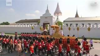 Thai kings lavish $90 million cremation ceremony