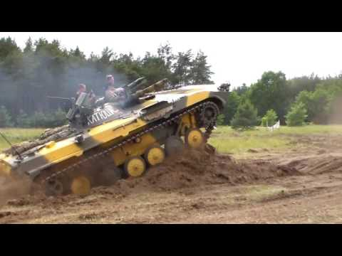 Extreme BMP Fahrt beim OMBLL Treffen in Genthin 2017