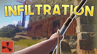 SOLO INFILTRATION! | Rust SOLO Gameplay