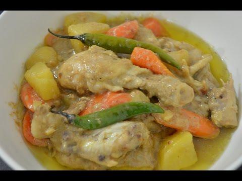 Chicken Curry (Filipino style)
