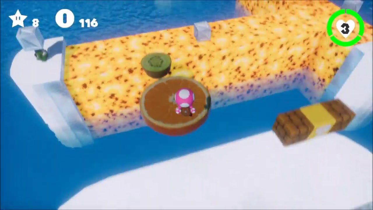 Toadette's Sweets Gallery - Icy Hot Sorbet