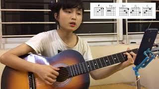Người Em Tìm Kiếm- MIN - Hợp Âm l Guitar đơn giản l Guitar cover by Song Tử l King Guitar