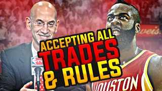 HARDEST CHALLENGE EVER!! ACCEPTING ALL TRADES + RULES CHALLENGE! NBA 2K17 MY LEAGUE