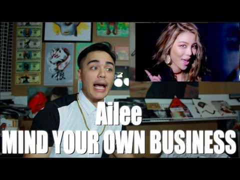 Ailee - Mind Your Own Business MV Reaction [SLAY AILEE]