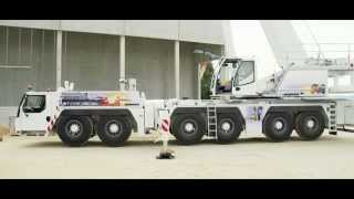 Liebherr - The LTM 1300-6.2 with single-engine concept