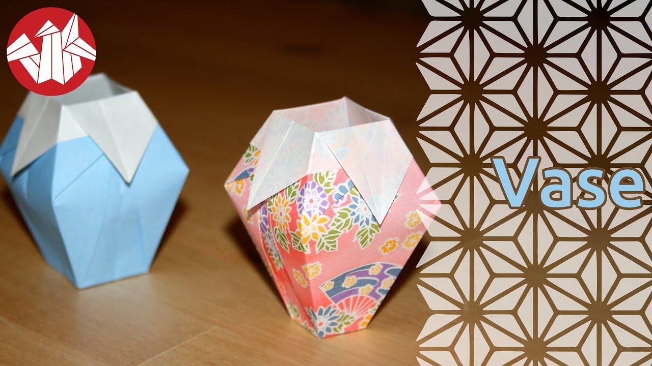 Origami vase senbazuru youtube origami vase senbazuru floridaeventfo Images