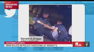 Video possibly shows man killed by Atlanta police officers at Wendy's
