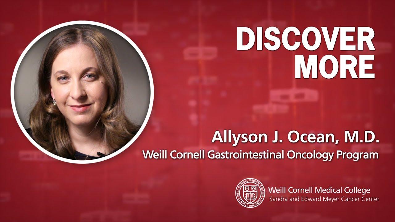 Allyson Ocean, M D    Weill Cornell Medicine
