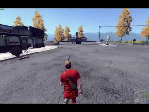 H1Z1 Just Survive - lol insivible... Invisible Hacker