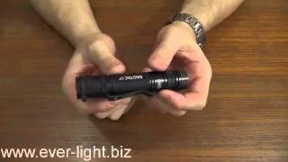 Распаковка, обзор возможностей и включение светодиодного фонаря EagleTac D25LC2