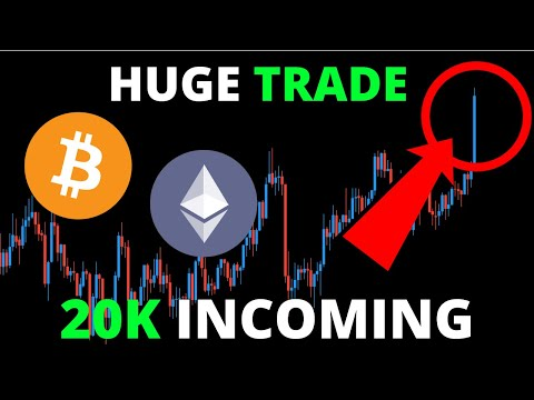 ALERT!! 20K BITCOIN INCOMING! WHY I JUST TOOK A HUGE TRADE