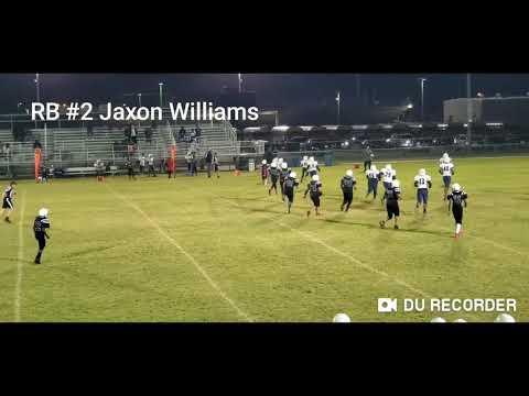 RB #2 Jaxon Williams, Summer creek Middle school