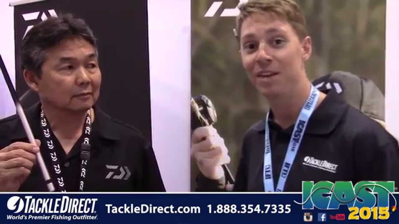 Daiwa Emblem Pro Surf Rod at ICAST 2015