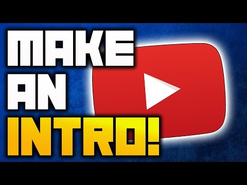How to Make an Intro for YouTube Videos FOR FREE 2017!  No SOFTWARE/DOWNLOAD! (2017) [Tutorial]