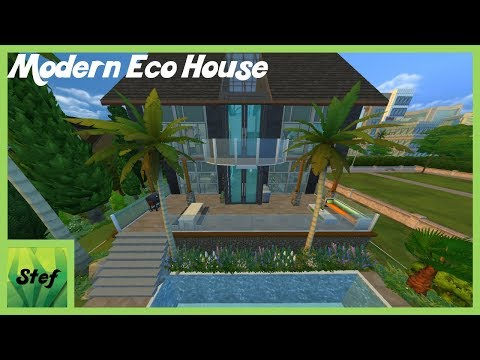 MODERN ECO HOUSE – THE SIMS 4 HOUSE BUILDING