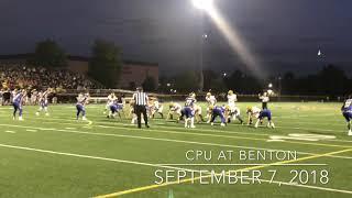Football Highlights: CPU at Benton