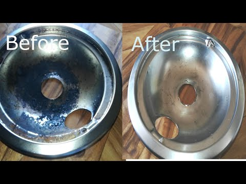 Stove Cleaning | Drip Pan Cleaning | Cleaning Tips