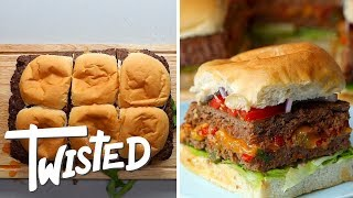 Sheet Pan Burger Sliders Recipe