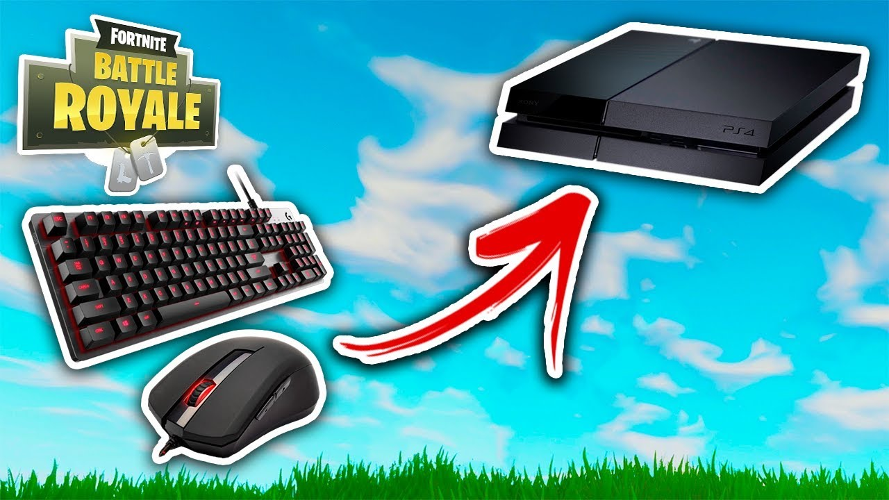How To Use Mouse And Keyboard On PS4 Fortnite! HOW TO SETUP KEYBOARD &  MOUSE ON FORTNITE
