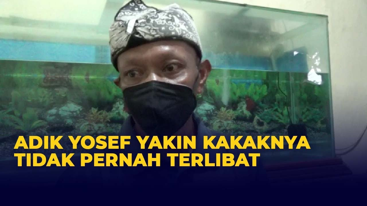Download Adik Yosef Yakin Kakaknya Tak Terlibat Kasus Pembunuhan Ibu-Anak Subang