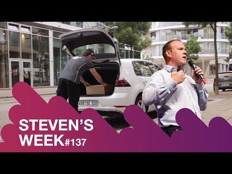 Steven's week 137: News about Volkswagen, Amazon, Mark Zuckerburg vs. Tik Tok and Google Assistant
