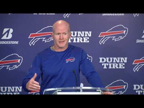 Sean McDermott's full press conference a day after the Bills beat the Jets 41-10