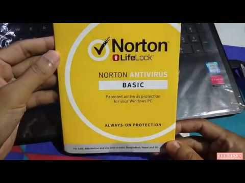 Norton Antivirus Product Key Unboxing And Review
