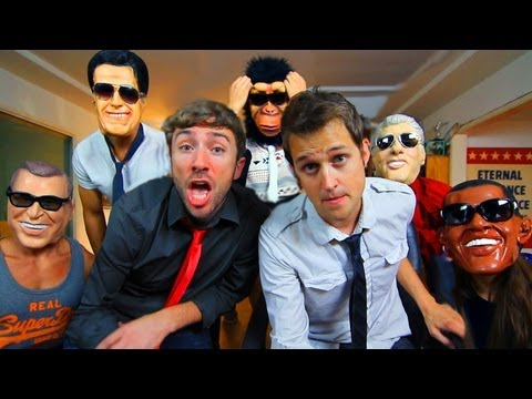 The Lazy Politicians Song - Luke Conard and Peter Hollens - The Lazy Song Parody!