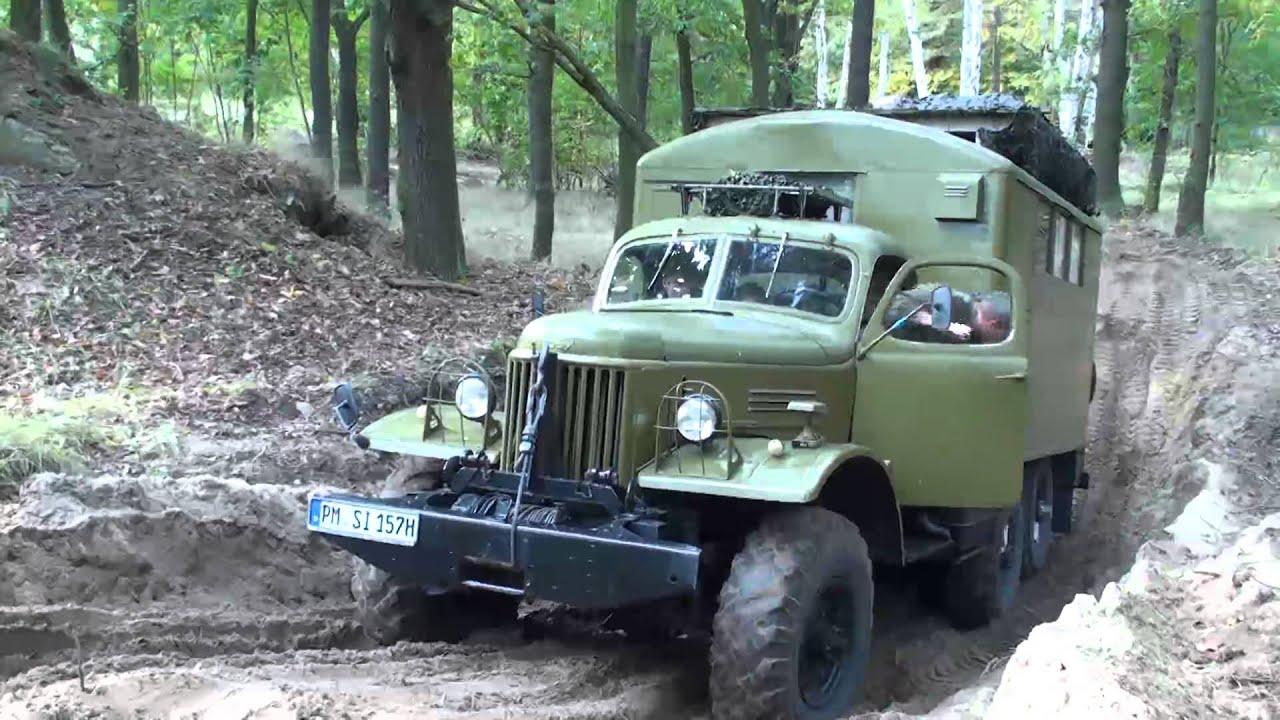 ZIL 157 Bergung durch Ural 375...